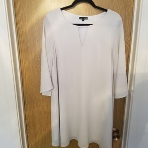 As U Wish White Dress with Bell Sleeves